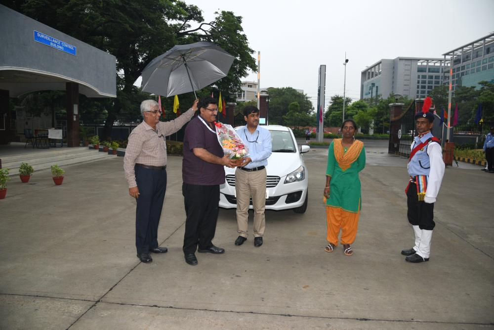 DG Visit and Inaugration of Prof. G.S Ramasamy Park 13 Oct 2017