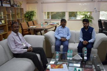 Meeting with Agnii Officials at CSIR-SERC