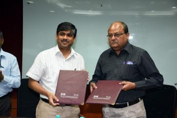 MoU between CSIR-SERC and SAIL-DSP