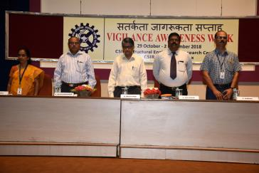 Vigilance Awareness Week 2018