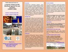 Advanced course on Longevity of steel and RC Structures against Fire and Corrosion (LSRSFC-2020) - 18 to 20 November 2020