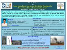 Webinar  on Performance Based Analysis and Retrofitting Techniques for Transmission Line & Communication Tower - 27 November 2020