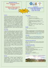 """Three days online advanced course on """"Recent Advances in Concrete Technology & Durability of Concrete Structures - 2020"""" (26 - 28 August 2020)"""