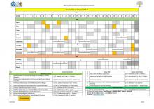 Skill Development Training Programme Calendar 2020-21